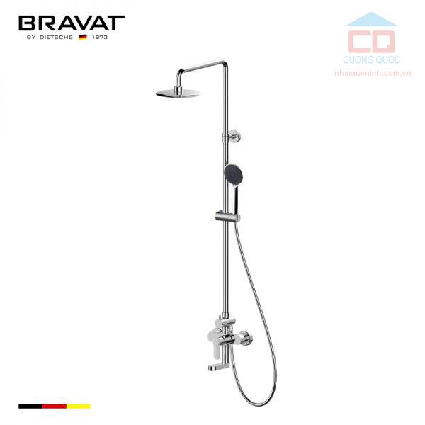 Sen cây tắm gắn tường cao cấp Bravat F63783C-A2-ENG