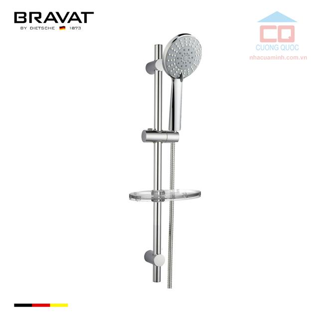 Thanh trượt và vòi hoa sen tắm cao cấp Bravat D154CP-2-ENG