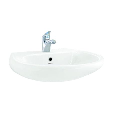 Chậu rửa lavabo Viglacera BS409 treo tường