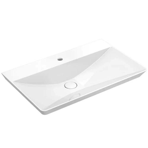 Chậu rửa lavabo Viglacera Platinum P.22.680 (Vòi gắn chậu)