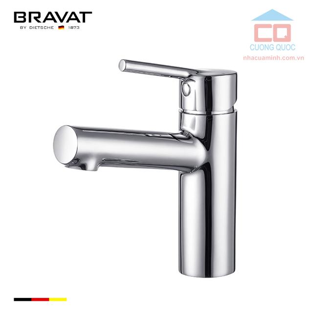 Vòi ngắn chậu lavabo cao cấp Bravat F1172217CP-ENG