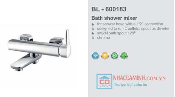 Vòi sen tắm nhiệt độ cao cấp Bello BL - 600183