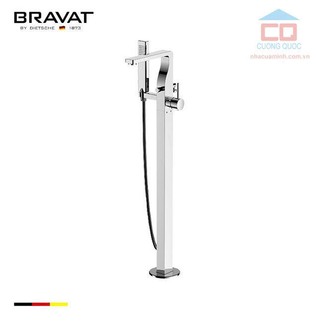 Vòi sen tắm xả bồn cao cấp Bravat F66061C-B3-ENG