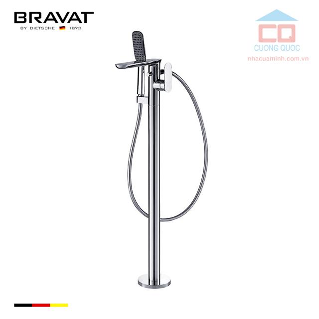 Vòi sen tắm xả bồn cao cấp Bravat F665104C-B3-ENG